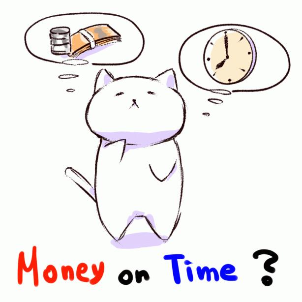 時間とお金、どっちが大切?