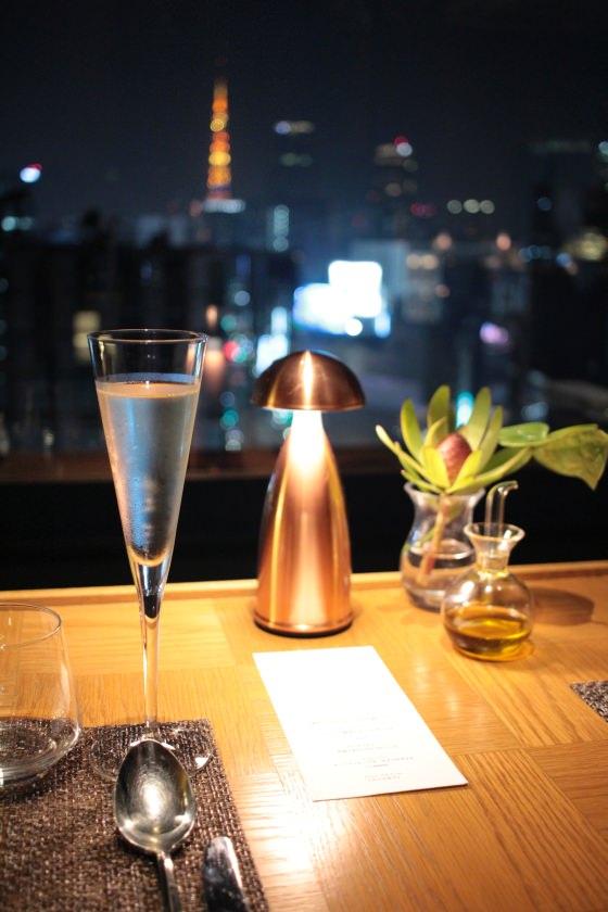 EF-S24mm F2.8 STMで東京タワーをバックに
