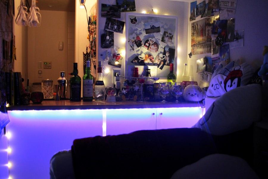 自宅バー・照明イメージ