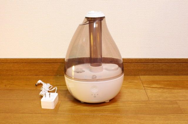 Dreameggのしずく型加湿器本体・外観
